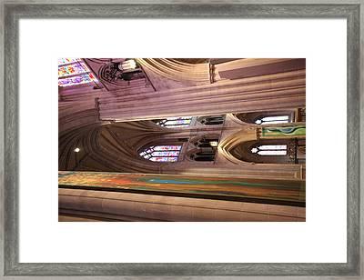 Washington National Cathedral - Washington Dc - 011382 Framed Print by DC Photographer