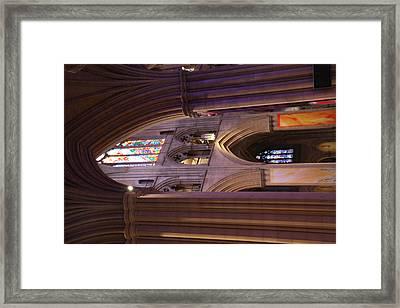 Washington National Cathedral - Washington Dc - 011385 Framed Print