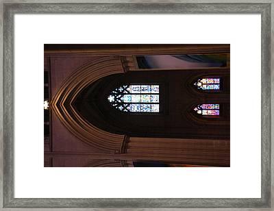 Washington National Cathedral - Washington Dc - 011387 Framed Print
