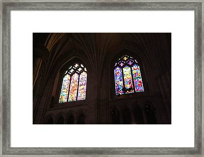 Washington National Cathedral - Washington Dc - 011394 Framed Print by DC Photographer