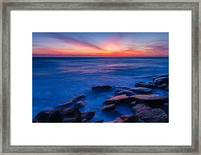 Washington Oaks Twilight Framed Print