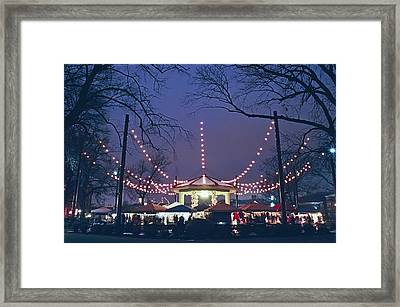 Washington Park Framed Print