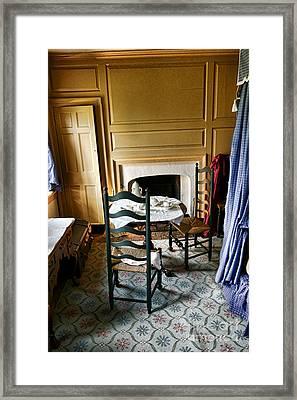 Washington Slept Here Framed Print by Olivier Le Queinec