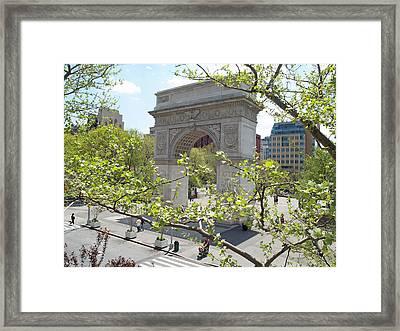 Washington Square Arch Framed Print