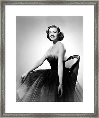 Washington Story, Patricia Neal Framed Print by Everett
