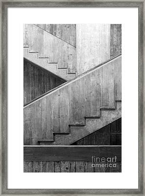 Washington University Eliot Hall Stairway Framed Print by University Icons