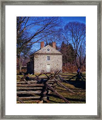 Washington's Headquarters - Valley Forge Framed Print