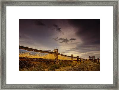 Washoe Lake Wildlife Area Framed Print by Janis Knight