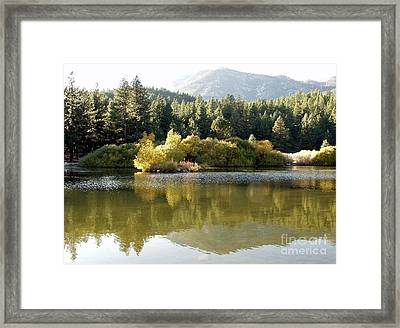 Framed Print featuring the photograph Washoe Valley by Carol Sweetwood