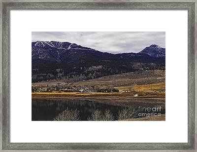 Washoe Valley Framed Print