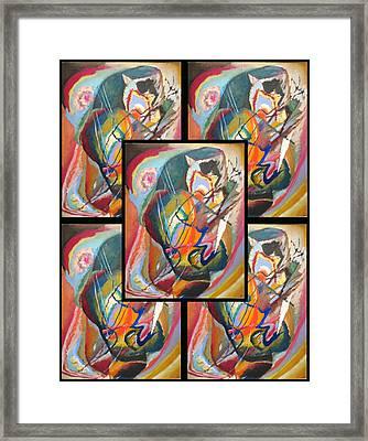 Wassily Kandinsky 2 Framed Print by Wassily Kandinsky