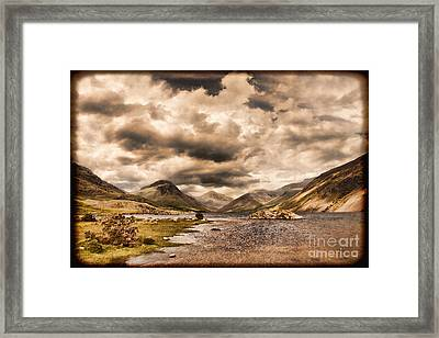 Wast Water Lake District England Framed Print by Colin and Linda McKie