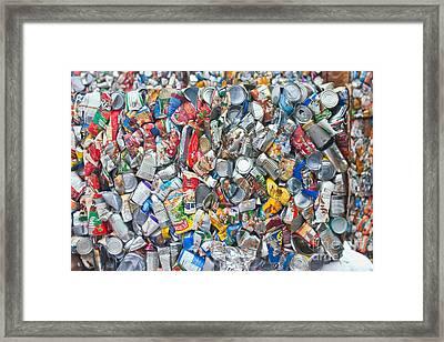 Waste Not Framed Print