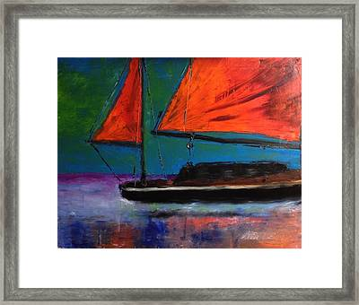 Wasted Paint 2 Framed Print by Stan Tenney
