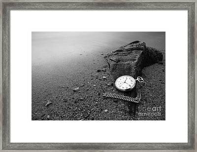Wasted Time Framed Print by Maurizio Bacciarini