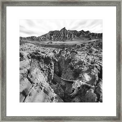 Wasteland Framed Print by Mike McGlothlen