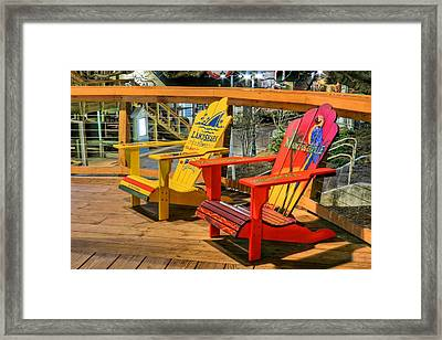 Wasting Away Again In Destin Framed Print by JC Findley