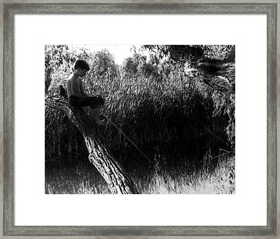 Wasting Time Is Never A Waste Of Time Framed Print