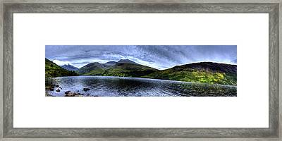 Wastwater Panorama Framed Print by Chris Whittle