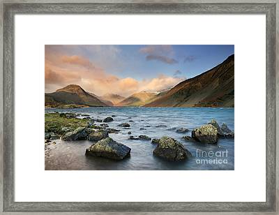 Wastwater Framed Print by Rod McLean