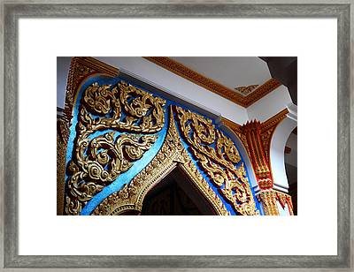 Wat Chalong - Phuket Thailand - 011319 Framed Print by DC Photographer