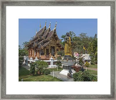 Wat Chedi Liem Phra Ubosot Dthcm0831 Framed Print