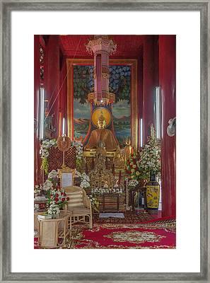 Wat Chedi Liem Phra Wihan Buddha Image Dthcm0827 Framed Print