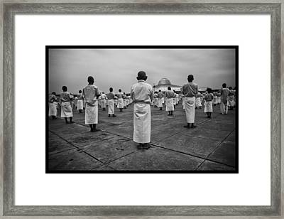 Wat Dhamma 2 Framed Print by David Longstreath