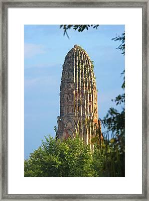 Wat Phra Ran, Ayutthaya Historical Framed Print by Keren Su