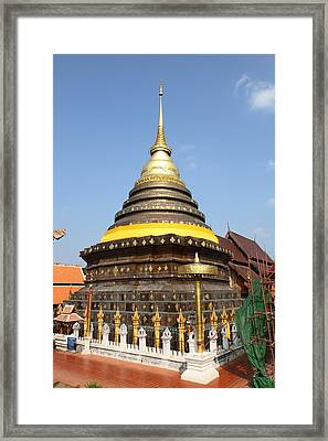Wat Phra That Lampang Luang - Lampang Thailand - 011315 Framed Print by DC Photographer