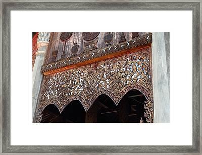 Wat Phra That Lampang Luang - Lampang Thailand - 01132 Framed Print