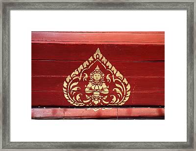 Wat Phrathat Doi Suthep - Chiang Mai Thailand - 011313 Framed Print