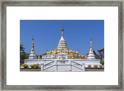 Wat Songtham Phra Chedi Dthb1915 Framed Print