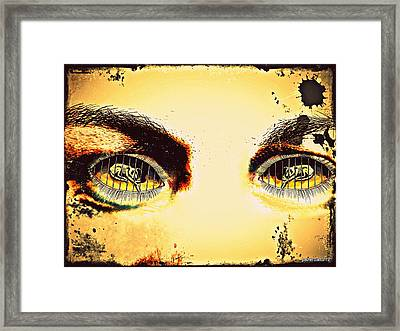 Watch With Indifference Framed Print by Paulo Zerbato