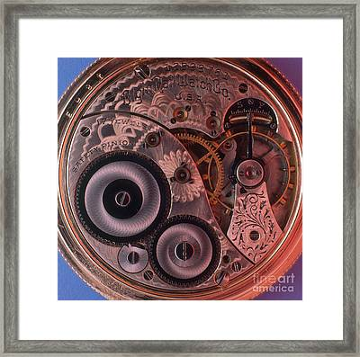 Watch Workings Framed Print