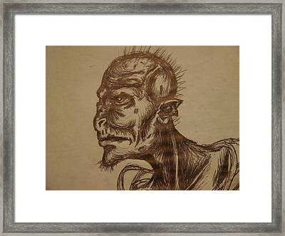 Watcher Of The Earth Framed Print by Joshua Massenburg