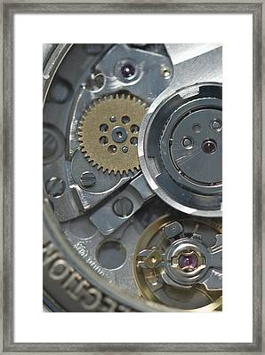 Watches Framed Print