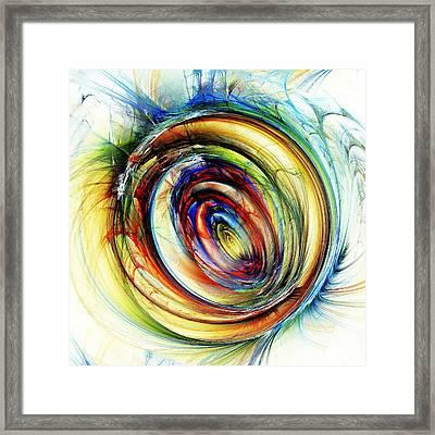 Watchful Eye Framed Print by Anastasiya Malakhova