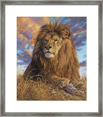 Watchful Eyes Framed Print by Lucie Bilodeau