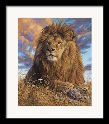 African Wild Life Framed Prints
