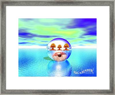 Watchin The Music Framed Print by Bobby Hammerstone