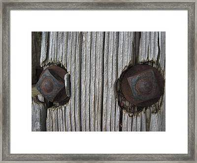 Watching Framed Print by Cheryl Perin