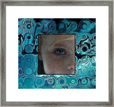 Watching Framed Print by Ellen Henneke