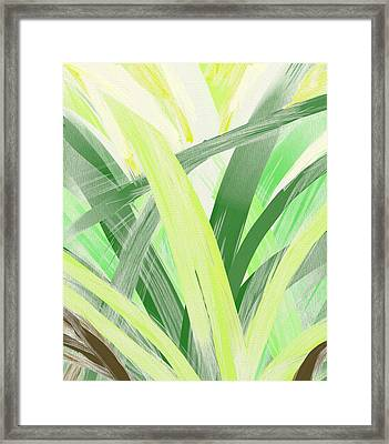 Watching Grass Grow Framed Print