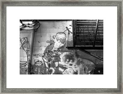 Watching Framed Print by Michael Rogers