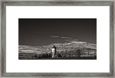 Watching Over Buchheim Framed Print by Bernd Laeschke
