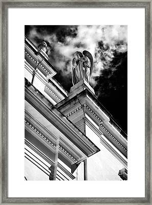 Watching Over Fatima Framed Print