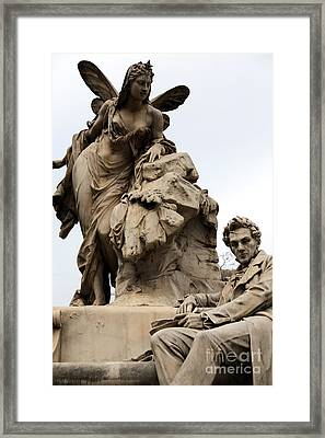 Watching Over In Vienna Framed Print