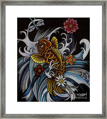 Watching Over Natilius Framed Print by Maria Arango
