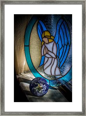Watching Over Framed Print by Randy Turnbow